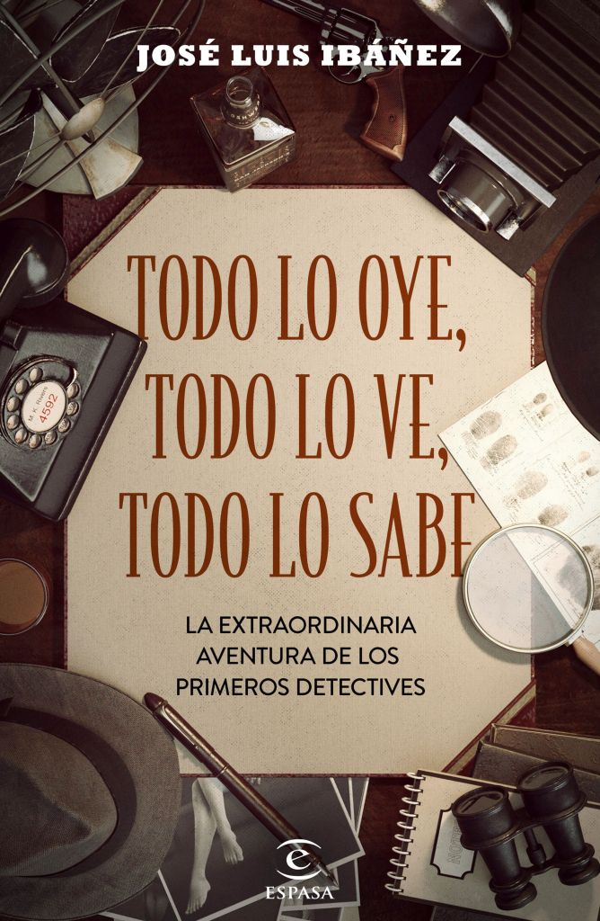 Portada del libro, publicado por editorial Espasa.